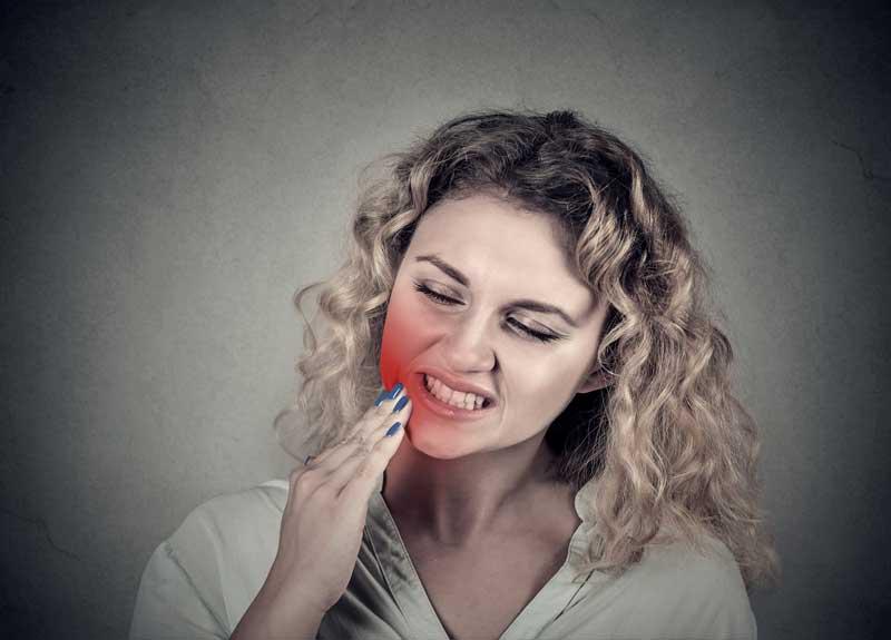 רגישות לחום בשיניים
